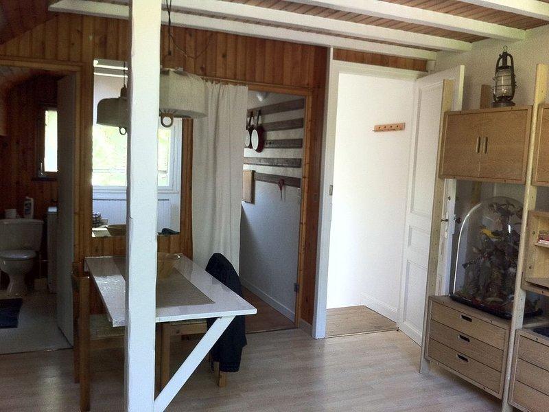 STUDIO-DUPLEX  AMENAGEMENT CONTEMPORAIN - PLEIN SUD- LUMINEUX-CALME, location de vacances à Cauterets