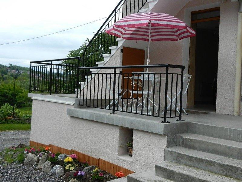 gites douillet en savoie à 7km d'albertville cité olympique, aluguéis de temporada em Gilly-sur-Isere