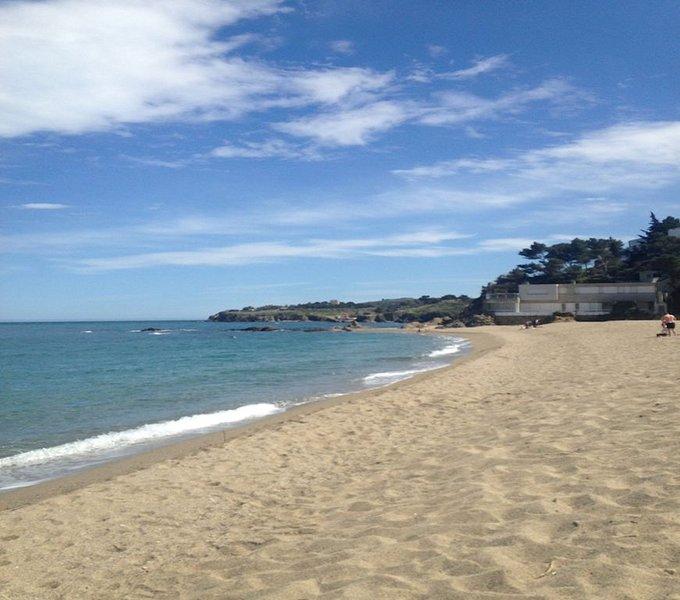 100 m plage, Résidence de standing avec parking privé, concierge et ascenseur, Ferienwohnung in Argeles-sur-Mer