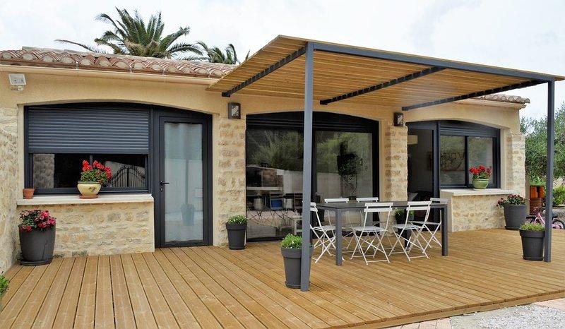 Gîte du Mas Eliana - Peyriac de Mer - Aude, holiday rental in Peyriac-de-Mer