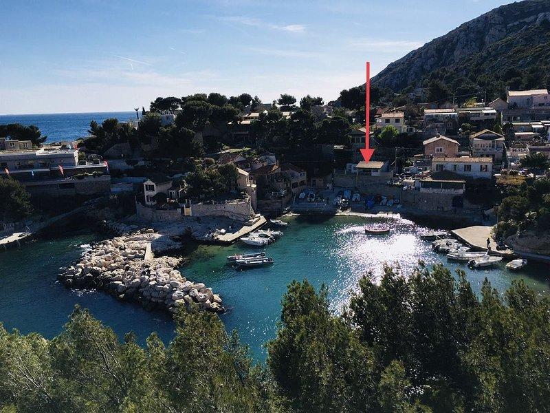 Niolon Villa les pieds dans l'eau, holiday rental in Le Rove