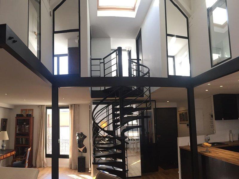 Duplex ensoleillé à Auteuil proche Roland Garros - 5 couchages, holiday rental in Boulogne-Billancourt