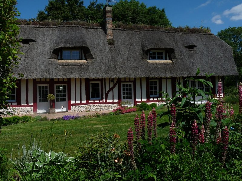 ---- La Chaumière ---, holiday rental in Brionne