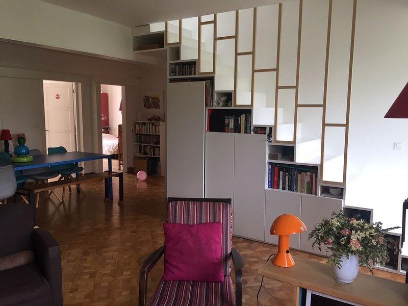 Duplex design contemporain, alquiler de vacaciones en Val-de-Marne