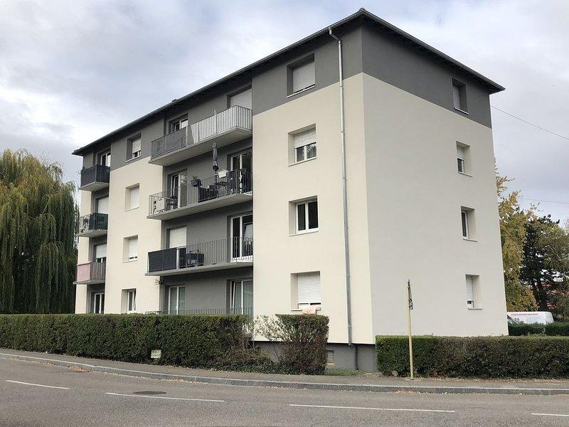 F1 dans le vignoble d'Alsace a 5 min de Colmar au calme, vacation rental in Wintzenheim