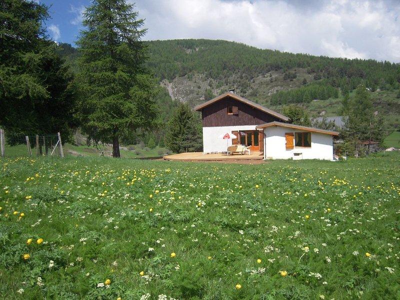 la petite maison dans la prairie, holiday rental in Valberg