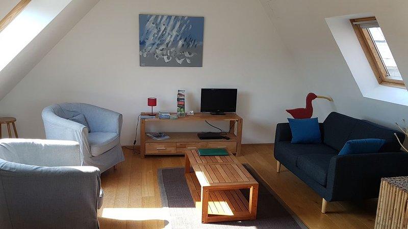 Wimereux, très bel appartement duplex à 15 mètres de la plage  pour 5 personnes, holiday rental in Wimereux