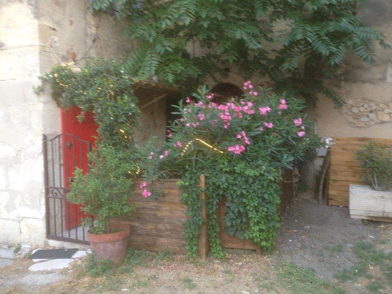 Charme plein centre du village de Maussane Les Alpilles avec patio, location de vacances à Maussane-les-Alpilles
