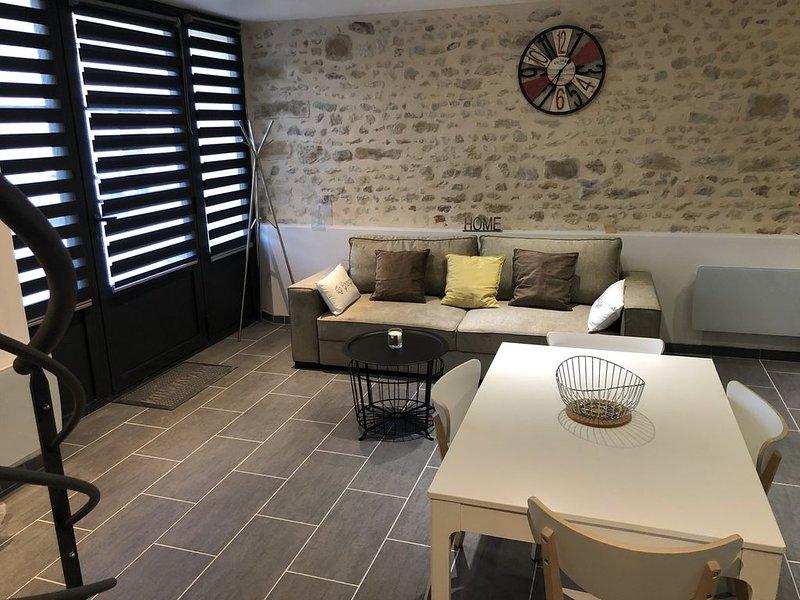 Superbe Gite La Grange, vacation rental in Arbonne-la-Foret