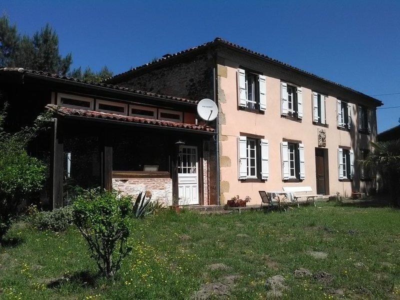 Gîte de séjour landais, Le Moulin vieux, holiday rental in Arjuzanx