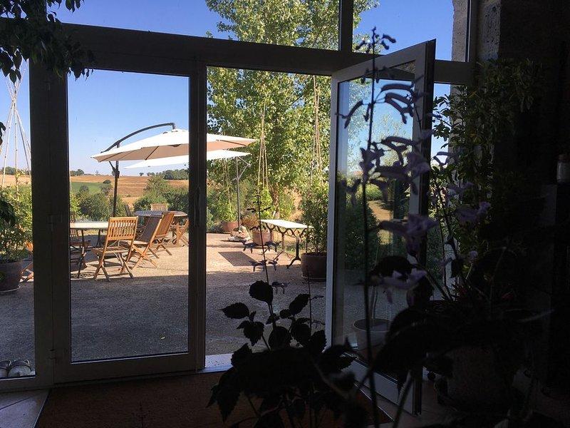 Bienvenue dans notre maison, nous sommes heureux de vous en ouvrir les portes !, holiday rental in Montagnac-sur-Auvignon