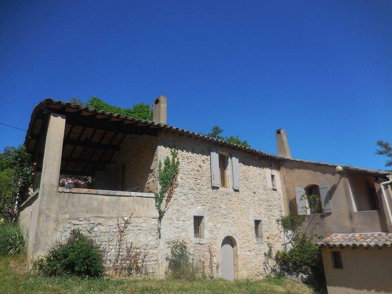 Location saisonnière Maison avec piscine Luberon, holiday rental in Buoux