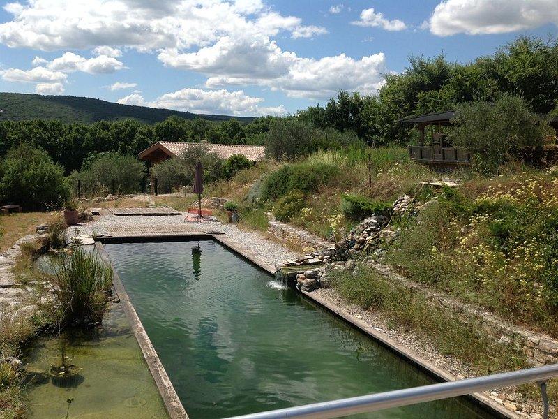 Gîte de charme dans la vallée de la Cèze, vacation rental in Goudargues