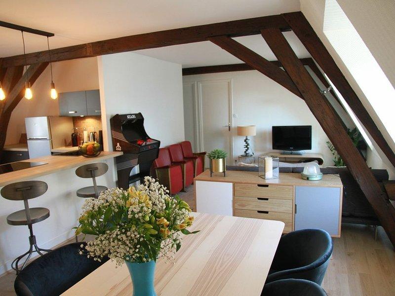 'Happy Loft' - Centre historique + parking privé, holiday rental in Loir-et-Cher