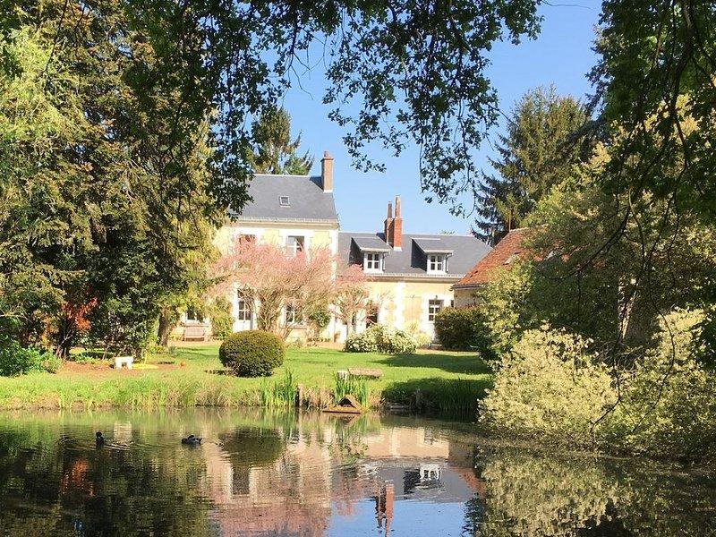 Gîte de charme, proche Tours, châteaux de la Loire, holiday rental in La Membrolle-sur-Choisille