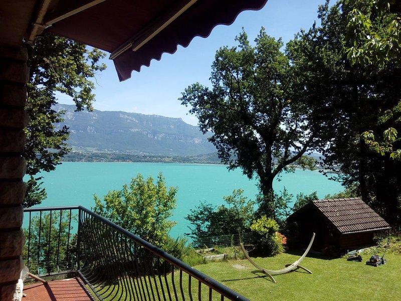Villa Clairjoie - Vue sur le lac et les montagnes, vacation rental in Saint-Bois