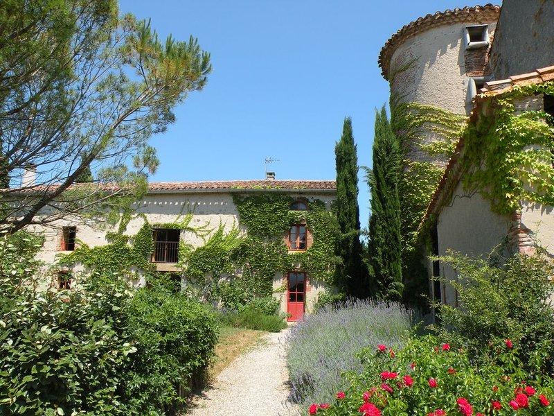 Maison de vacances romantique près de Carcassonne, holiday rental in Saint Martin de Villereglan