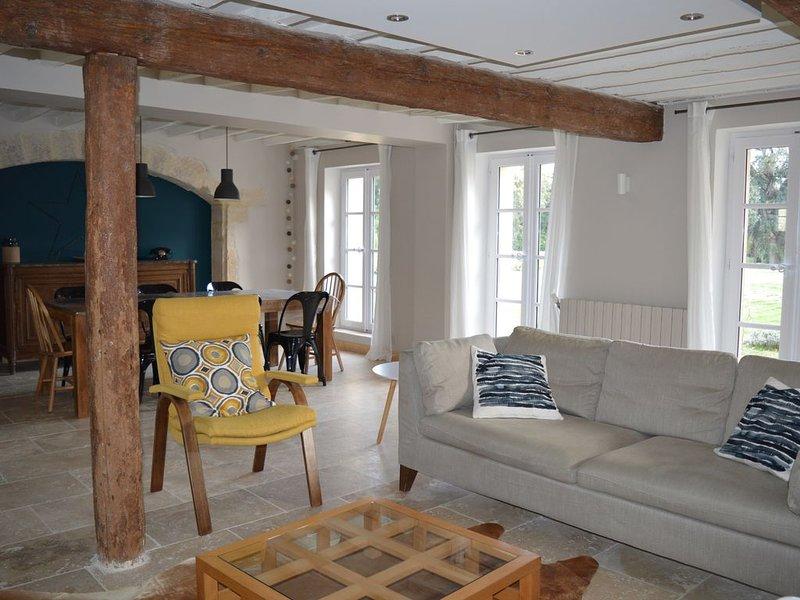 Maison dans château classé  à Montpellier près des plages, holiday rental in Montpellier