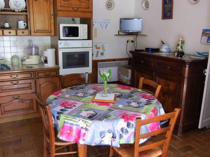 Gîte de caractère situé à Saint-Savinien sur Charente, vacation rental in Beurlay