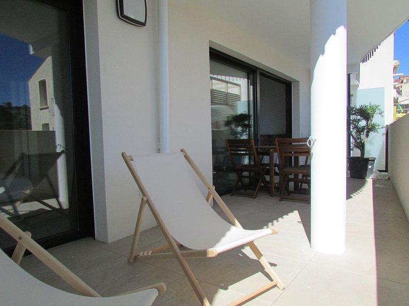 T2 de 54 m2 au 1er étage 2/4 pers 1 chambre climatisation parking ascenseur, alquiler de vacaciones en Port-Vendres