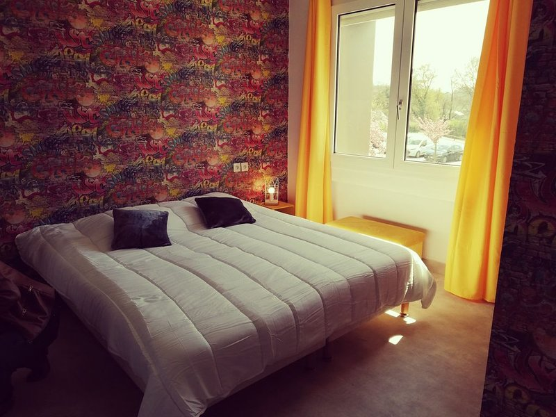 Grang appartement pour 14 personnes, location de vacances à Noizé