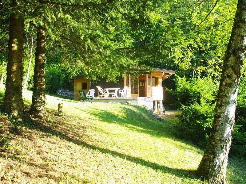 Chalet bois de la Combe des Feux, casa vacanza a Onnion