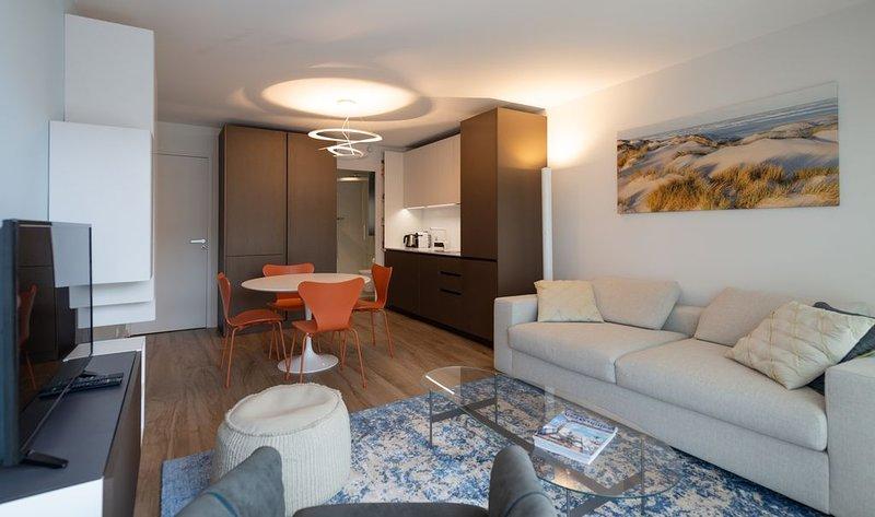 La Goelane, un studio-cabine haut de gamme en plein coeur du Touquet, location de vacances à Le Touquet – Paris-Plage