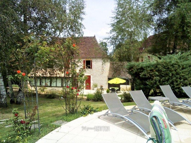 Maison indépendante Quercynoise, location de vacances à Autoire