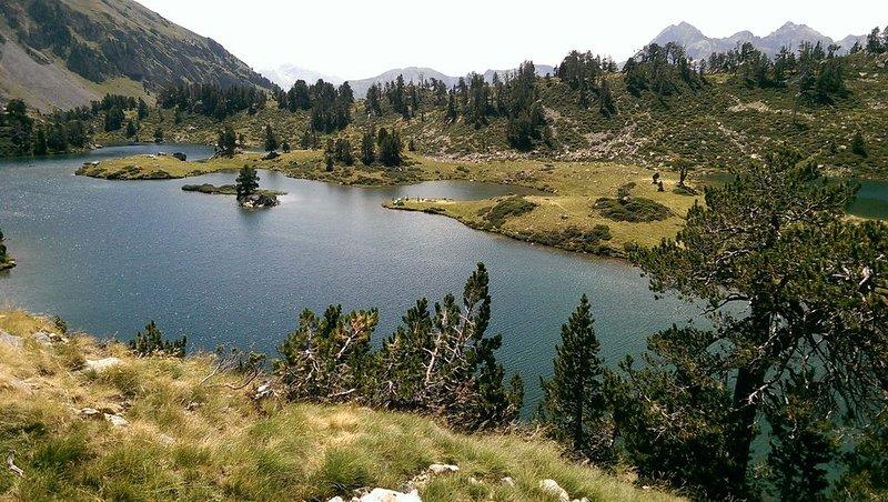 Lake Bastan från fristaden