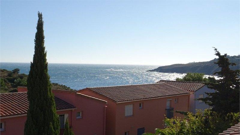Uitzicht op zee vanaf het terras