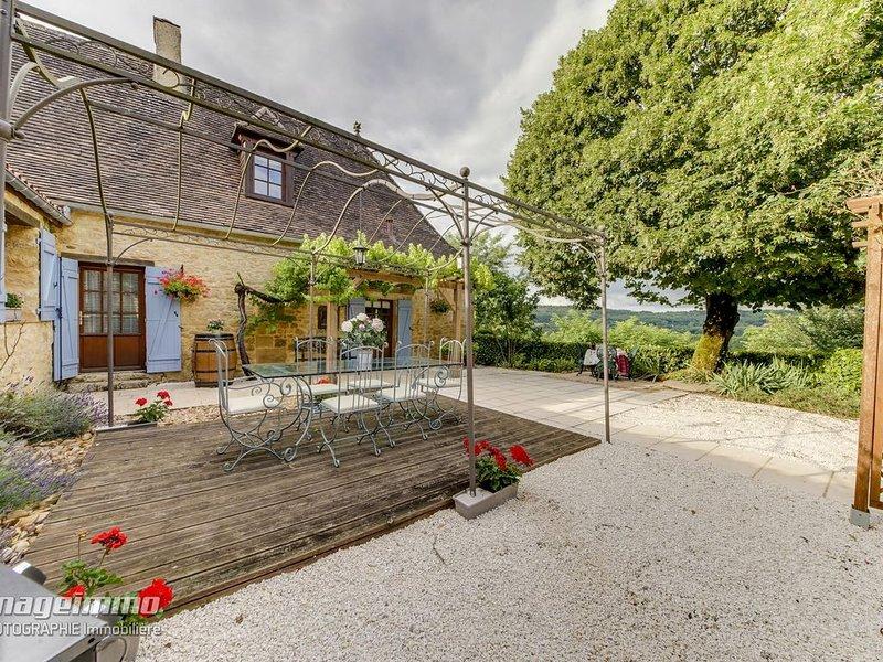 Trémolat - Cottage de charme tout confort - Piscine chauffée - Wifi, location de vacances à Mauzac-et-Grand-Castang