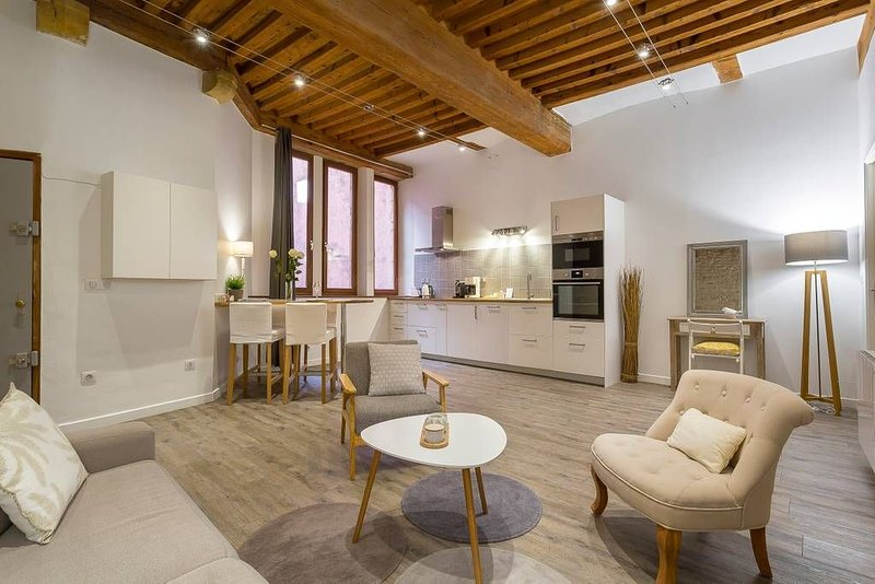 Good Place! Vieux Lyon - 46m2 - Charme & Confort, vacation rental in Ecully