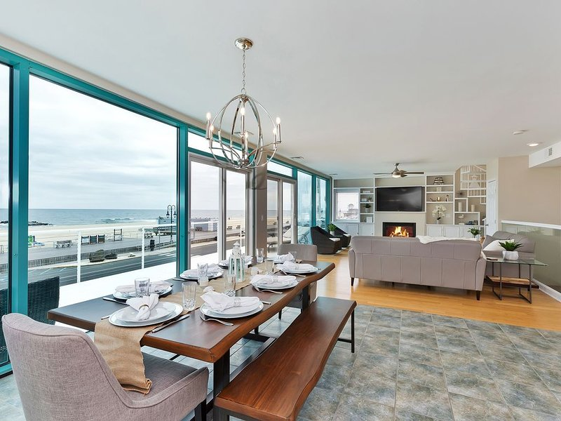 OCEAN FRONT - BEACH HOUSE, vacation rental in Belmar