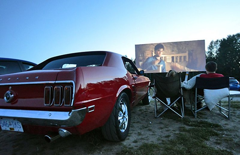 Cruise down to Vancouver's only drive-in movie theater only 15 mins away.