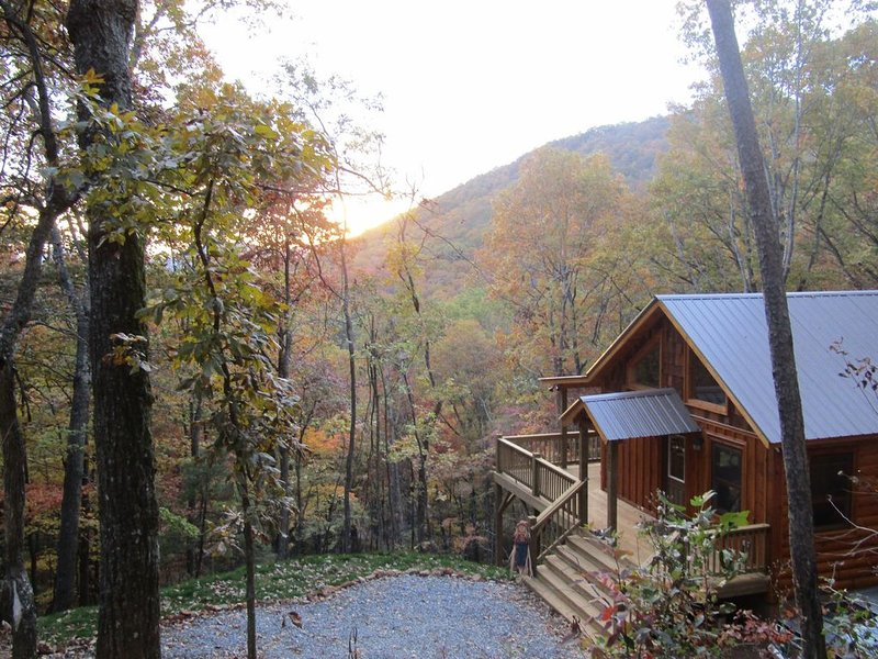 Perfect Couples Retreat, Private Cozy Cabin with a Great Mountain View!, holiday rental in Culberson