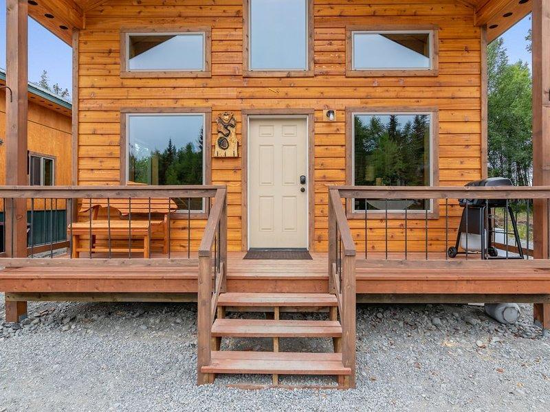 Newly built 2019 Cabin near Kenai River, sleeps 5, location de vacances à Kenai