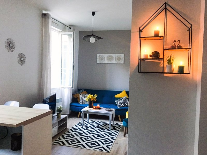 Cozy apartment downtown, vacation rental in Rennes