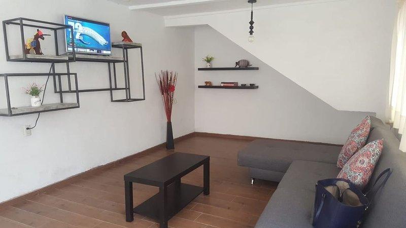 Beautiful house with parking 10 min. from city center, location de vacances à Guanajuato