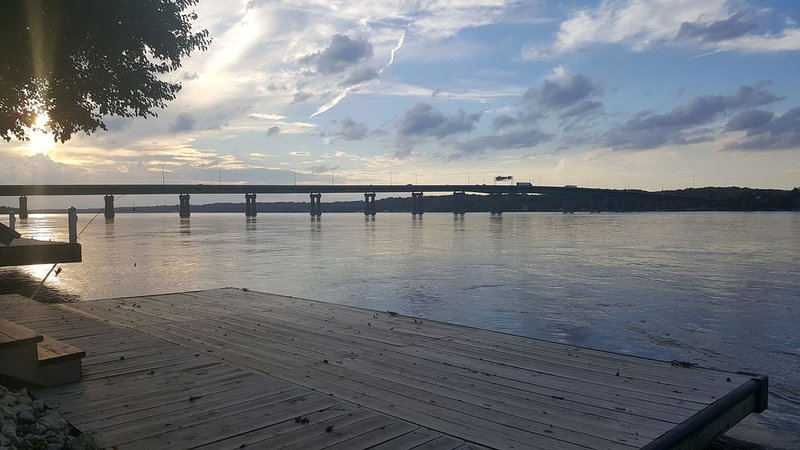 River's Edge on the Mississippi, holiday rental in Camanche