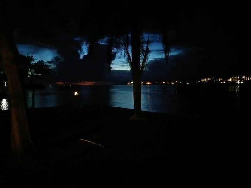Peaceful night time on the Gulf
