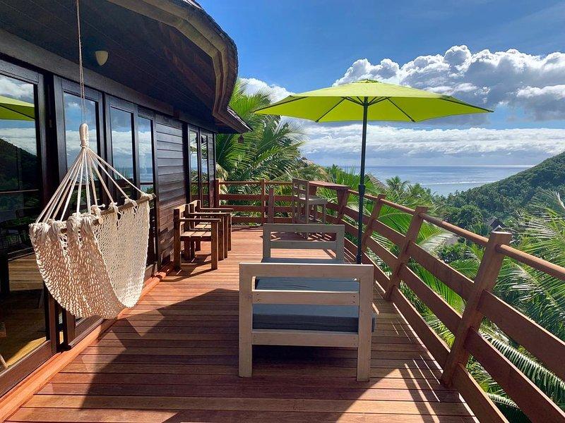 VILLA EUTIERRA - A private and pristine piece of paradise., location de vacances à Archipel de la Société