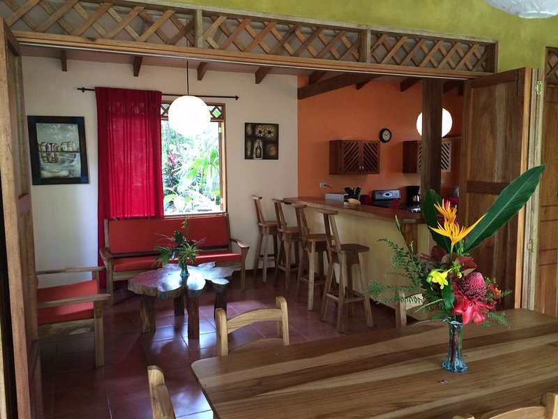 Jungle family-friendly house, holiday rental in Cahuita