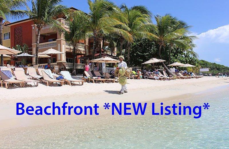 *NEW* Beachfront Best * Infinity Bay Spa & Beach Resort, holiday rental in Flowers Bay