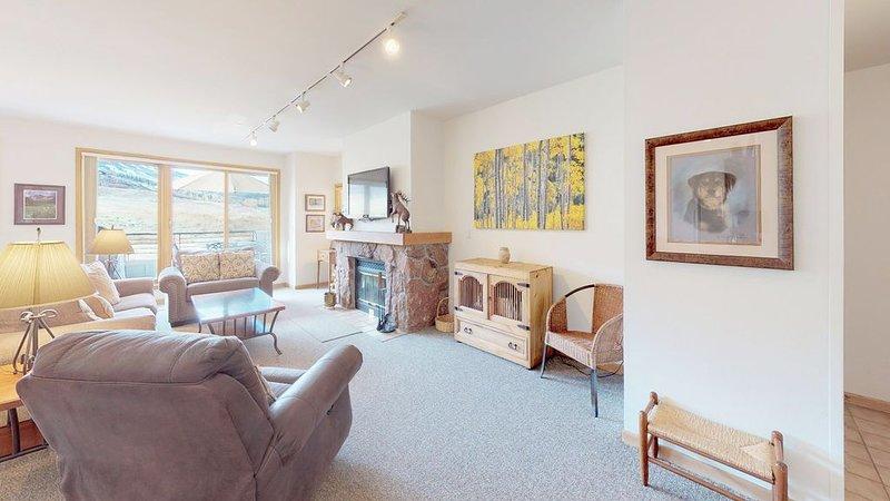 Villas at Snowmass Club 1625: Free ASE Airport Transportation, alquiler vacacional en Woody Creek