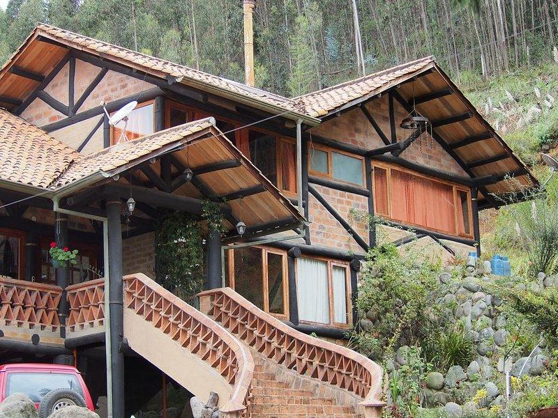Casa del Tio Shanta / Room Terrace & Breakfast, alquiler de vacaciones en Girón
