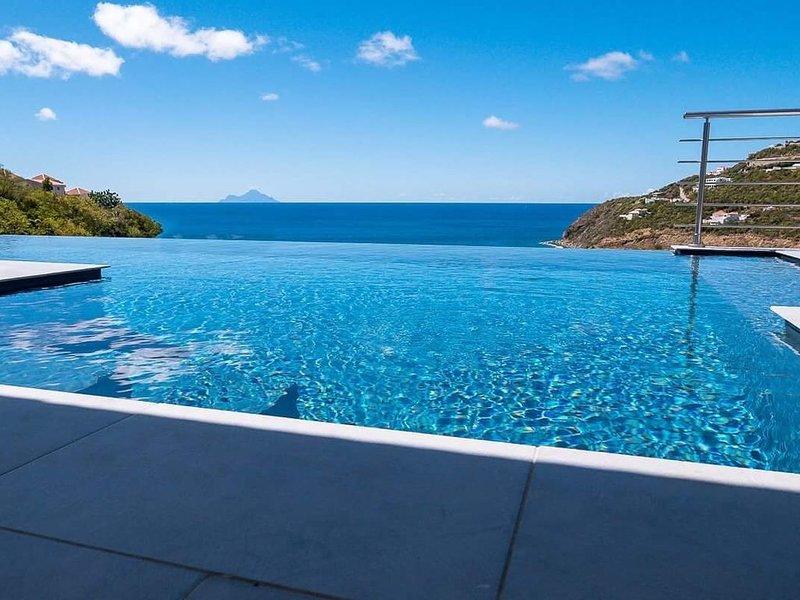 VILLA DREAM VIEW BELAIR Sint Maarten SXM – semesterbostad i Philipsburg