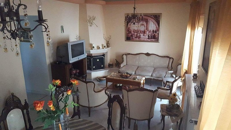 'Irini's Home' :  A friendly luxurious appartment ideal for families and friends, holiday rental in Katochori