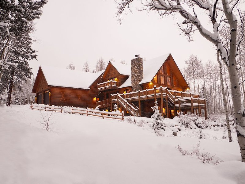 A High-Mountain Retreat of Rustic Luxury, just above historic Twin Lakes Village, vacation rental in Twin Lakes
