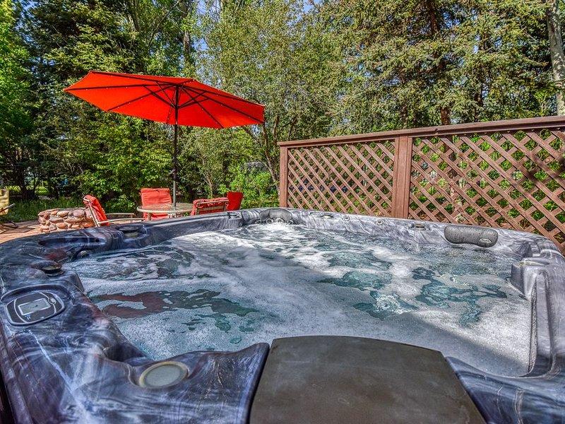 Central Hot-tub Garden Suite, Ferienwohnung in Flagstaff