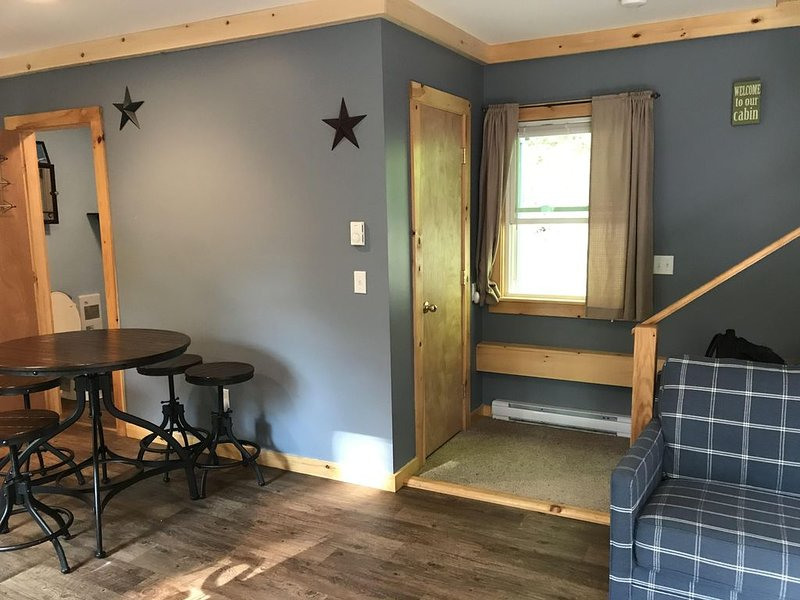 NEW LISTING - Cozy Mountain Retreat on the Roaring Branch - dogs welcome, holiday rental in Cambridge